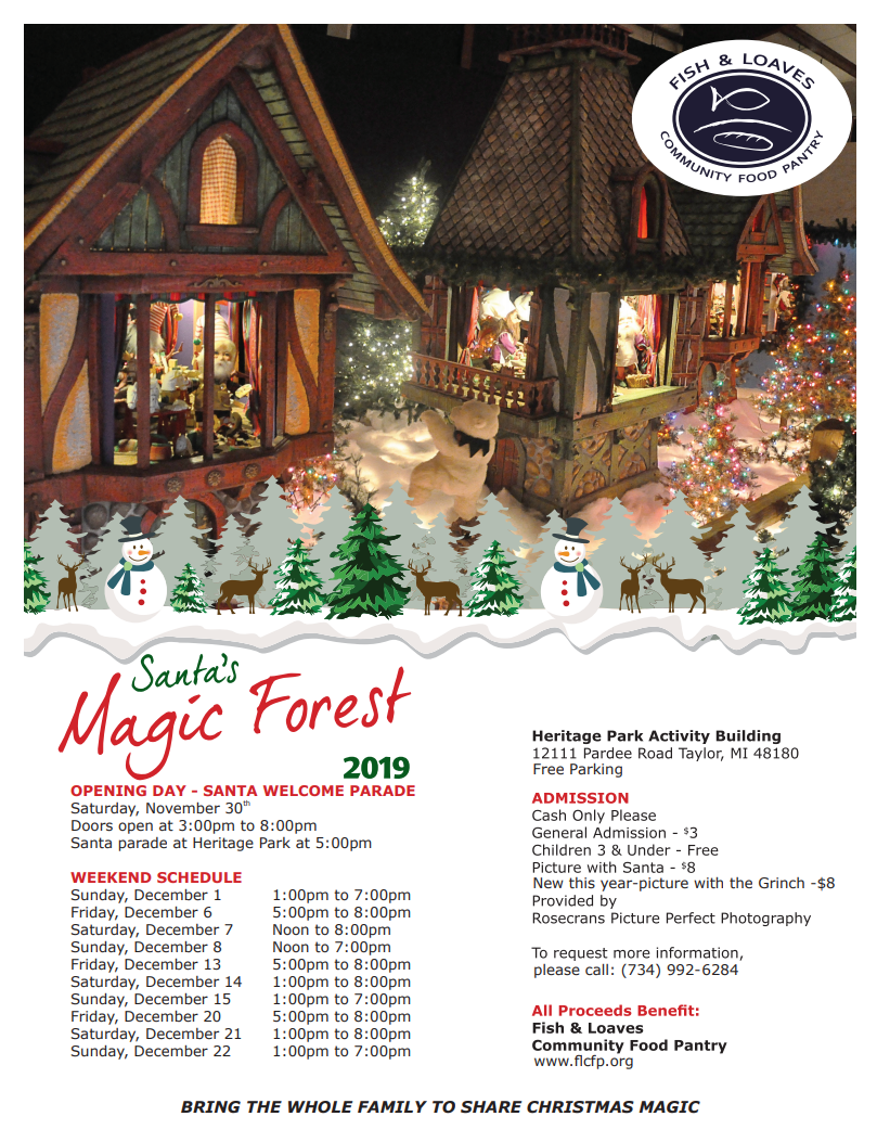 SANTA MAGIC FOREST 2019